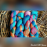Luxury Hand Beaded Silk Yarn