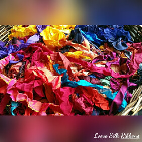 Sari Silk Ribbon - Loose